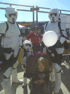 Lucy and Speeder Troopers